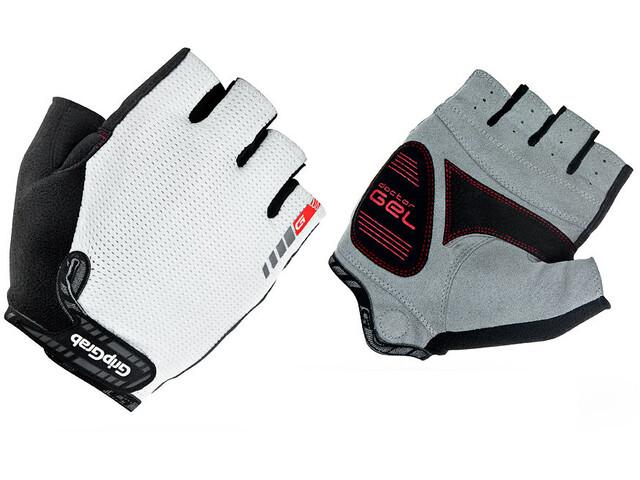 GripGrab EasyRider Short Finger Gloves weiß